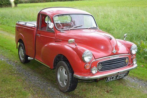 Morris Minor Pickup 1968 Brightwells