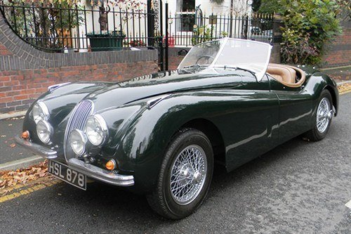 Jaguar XK120 Roadster 1954 Historics (1)
