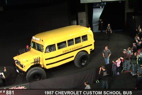 Chevrolet School Bus 1957 BJ 15 Jan 2015