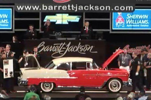 928 Chevrolet Bel Air HT 1955 BJ 16 Jan 2015