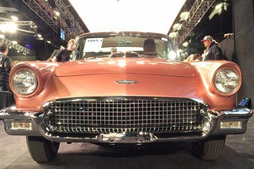1085 Ford Thunderbird E 1957 BJ 16 Jan 2015