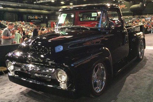 1142 Ford F100 Pickup 1956 BJ 16 Jan 2015
