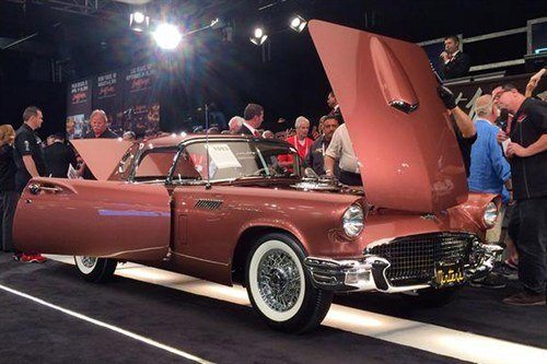 Ford Thunderbird E Manual 1957 BJ 16 Jan 2015