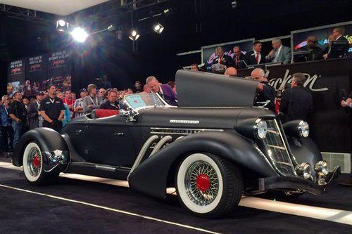 Auburn Speedster 1936 Recreation BJ 16 Jan 2015