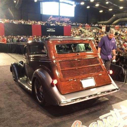 5026 Ford Custom Tin Woody 1936 BJ 17 Jan 2015