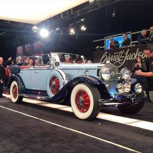 5032 Cadillac 370A Convertible 1931 BJ 17 Jan 2015