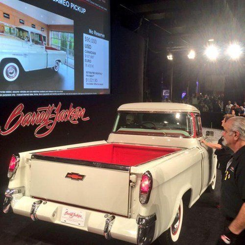 1336 Chevrolet Cameo Pickup 1955 BJ 17 Jan 2015