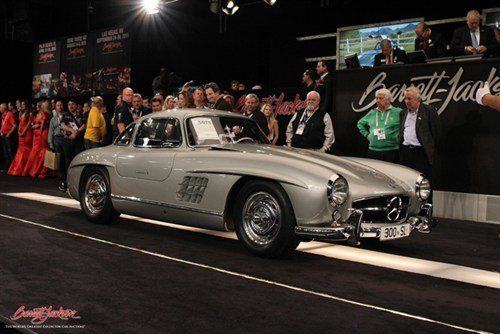 5075 Mercedes 300SL Gullwing BJ 17 Jan 2015