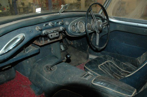 Ausitn Healey Project Interior (1)