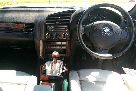 1996 BMW M3 Ex Top Gear Interior 2