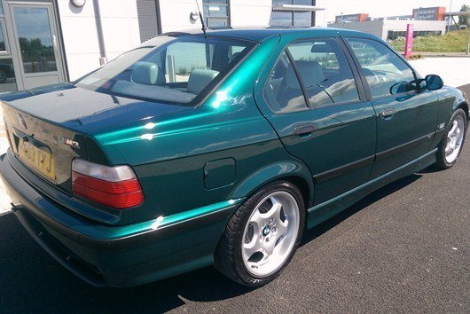 1996 BMW M3 Ex Top Gear Rear 34