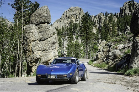 Needles Highway Corvette
