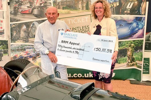 Sir Stirling Moss With Heather Reid (1)