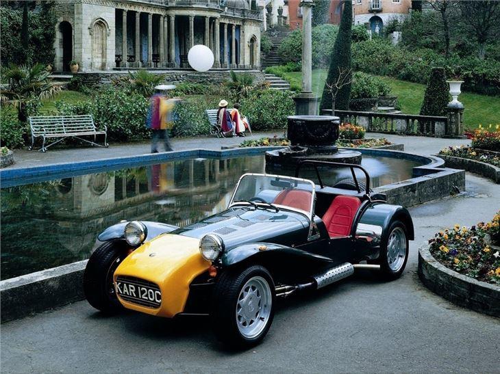 caterham super seven classic car review honest john. Black Bedroom Furniture Sets. Home Design Ideas