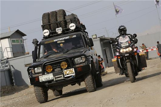 21 Year Old Land Cruiser Drives 4,600 Miles Kabul to ...