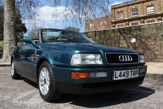 Audi 80 Cabrio 2.3 Ex Diana , Princess Of Wales COYS Blenheim Palace