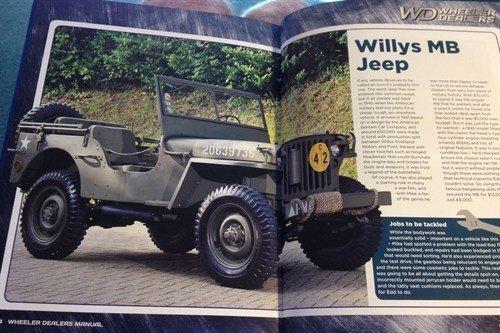 Wheeler Dealers Book Jeep